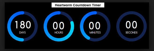 Heartworm Countdown Timer